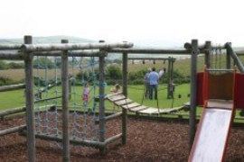 Childrens Play Area at Highlands End