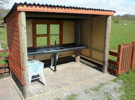 washing up shed