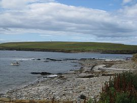 Looking towards the Brough of Birsay