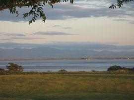 View from site over Solway