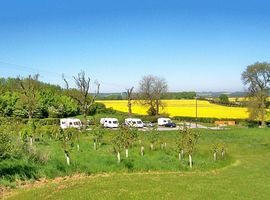 Views from caravan site Lincolonshire Wolds