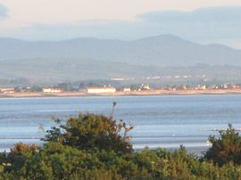 looking over to silloth